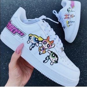 Air Force 1 Custom POWERPUFF GIRLS